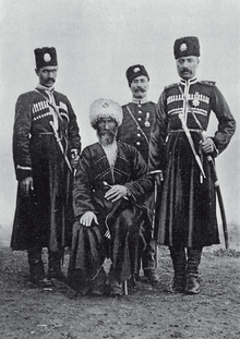 Lynch Armenia Group of Kurd Hamidiye cavalry.png