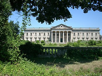 Lynnewood Hall - Exterior view in September 2007