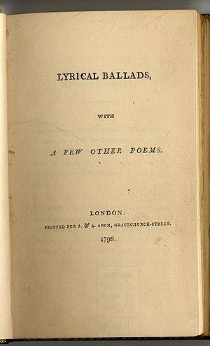Lyrical Ballads cover