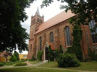 Müncheberg - 13th-century St. Mary Church