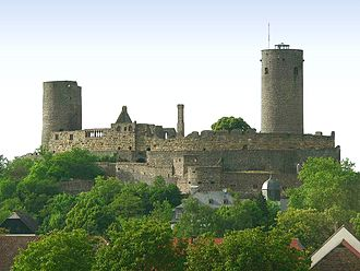 Münzenberg Castle - Münzenberg Castle from the south