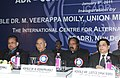 M. Veerappa Moily at the inauguration of the International Conference on ADR – Conciliation and Mediation organized by Council of the International Centre for Alternative Dispute Resolution, in New Delhi on January 08, 2011.jpg