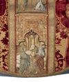 MCC-39546 Rode dalmatiek met aanbidding der koningen, besnijdenis en opdracht in de tempel en heiligen (5).tif