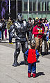 MCM London 2014 - War Machine vs Superman (14269360034).jpg