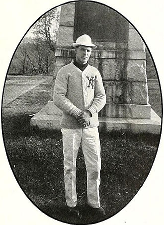 Charles Roller - Roller pictured in The Bomb 1908, VMI yearbook