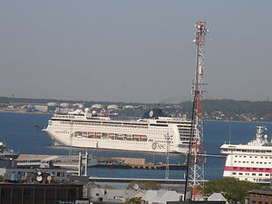 MSC Lirica departing Tallinn 26 May 2012.JPG