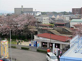 Okazakikōen-mae Station Railway station in Okazaki, Aichi Prefecture, Japan