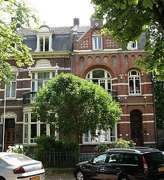 Villapark (Maastricht) - Image: Maastricht rijksmonument 506714 Sint Lambertuslaan 30 20100710