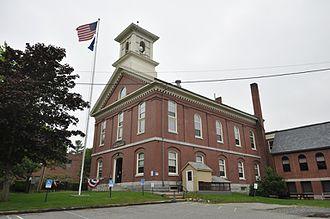Washington County, Maine - Image: Machias ME Washington County Courthouse