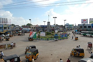 Machilipatnam City in Andhra Pradesh, India