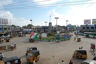 Machilipatnam - Koneru centre, the business centre of Machilipatnam