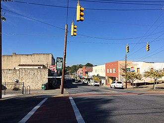 Madison, North Carolina - Downtown Madison