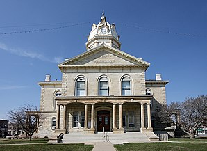 Das Madison County Courthouse in Winterset, gelistet im NRHP Nr. 76000790[1]