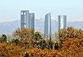 Madrid, La Almudena y rascacielos 02.jpg