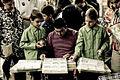 Madrid 2008 - El Rastro - Intercambio de cromos (2926720598).jpg