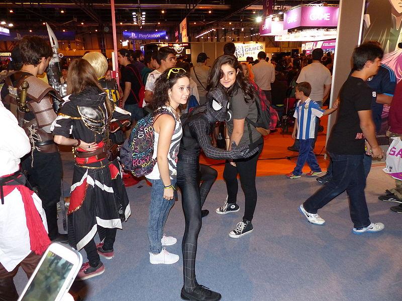 File:Madrid Games Week, cosplay, Madrid, Espa\u00f1a, 2015.JPG ...