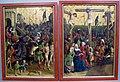 Maestro della passione di darmstadt, andata al calvario e crocifissione, 1450 ca..JPG
