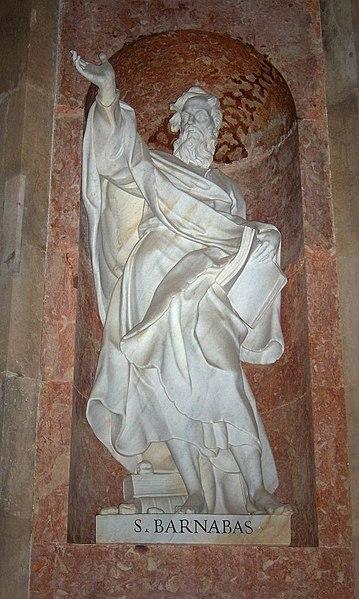 Socha svatého Barnabáše v Marfě, Portugalsko - Wikipedia