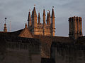 Magdalen College - Great Tower from Longwall St.jpg