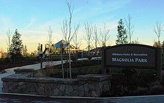 city park in Hillsboro, Oregon, United States