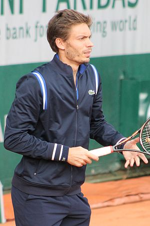 Nicolas Mahut - Mahut at the 2016 French Open.