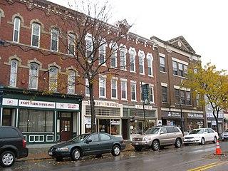 Main Street Historic District (Brockport, New York) United States historic place