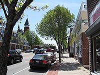 Main Street looking south, Walpole MA.jpg