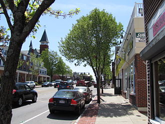 Walpole, Massachusetts - Main Street