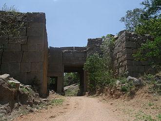 Rachakonda - Main entrance in the South