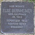 Mainbernheim Stolperstein Bernheimer, Else.jpg
