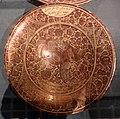 Maiolica ispano-moresca, piatto a lustro, valencia xvii secolo.jpg