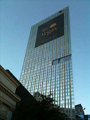 Mandarin Oriental, Las Vegas - Image: Mandarin Oriental Las Vegas