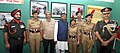 Manohar Parrikar and the Union Minister for Communications & Information Technology, Shri Ravi Shankar Prasad with the NCC cadets at the Special Exhibition on 1965 Indo-Pak War, at India Gate.jpg