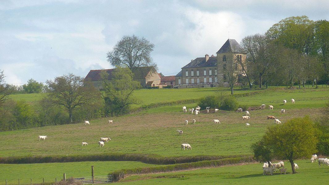 Manoir d'Arcilly sur la commune de Limanton