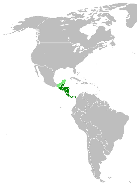 Central America, as defined for this article Map-Central America2.png