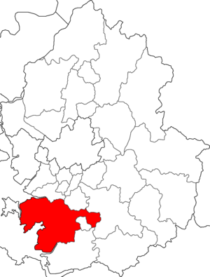 Location of Hwaseong