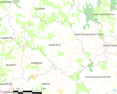 Map commune FR insee code 23072.png