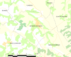 Map commune FR insee code 40097.png