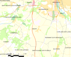 Map commune FR insee code 45345.png