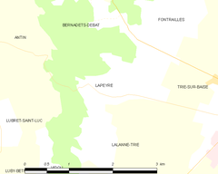 Map commune FR insee code 65260.png