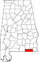 Map of Alabama highlighting Geneva County.svg
