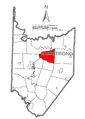 Map of Boggs Township, Armstrong County, Pennsylvania Highlighted.png