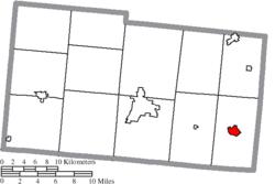Mechanicsburg Ohio Map.Mechanicsburg Ohio Wikipedia