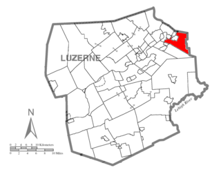 Pittston Township, Luzerne County, Pennsylvania Township in Pennsylvania, United States