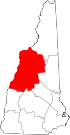Map of New Hampshire highlighting Grafton County.svg