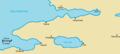 Map of the Samanli-Dag peninsula.png
