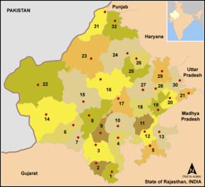 Jhunjhunu district - Wikipedia