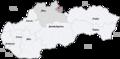 Map slovakia trstena.png