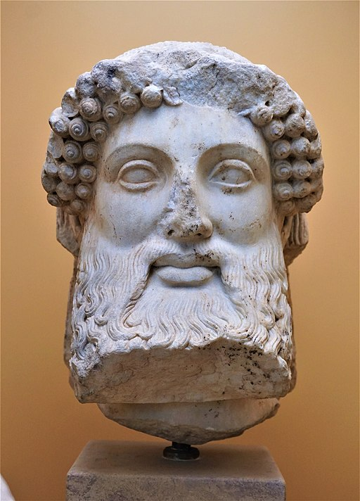 Marble Herm Head - Museum of the Ancient Agora - Joy of Museum