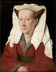 Jan van Eyck: Portrait of Margareta van Eyck